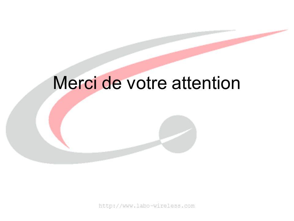 http://www.labo-wireless.com Merci de votre attention