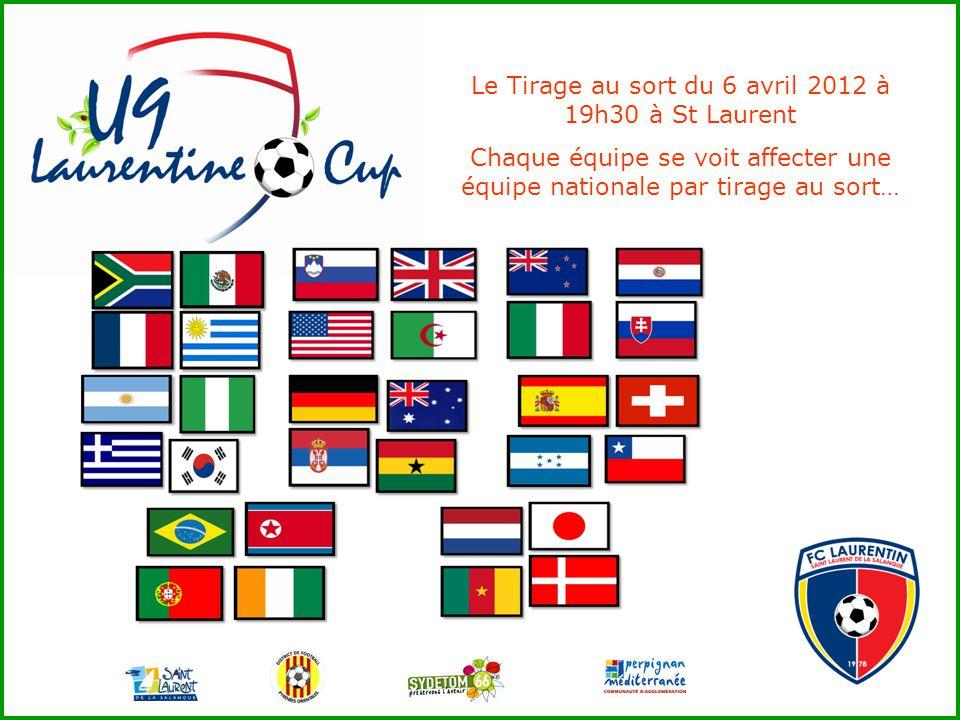 Ce que le FC Laurentin propose aux participants : +1 récompense individuelle pour chaque participant 1 jeu de maillots par équipe avec flocage du pays représenté Footons, Trions, Respectons…