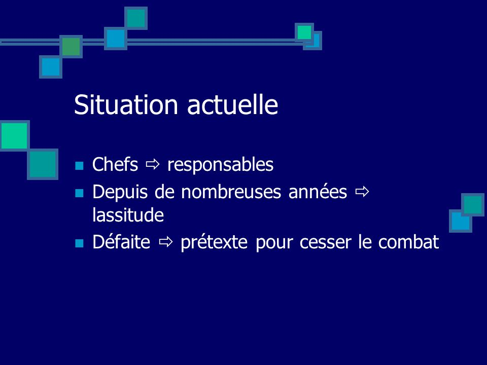 La situation stratégique mondiale dun point de vue français (18 juin 1940) Speaker : C. De Gaulle (Gén. De brig. à titre temporaire) Idées pour aujour