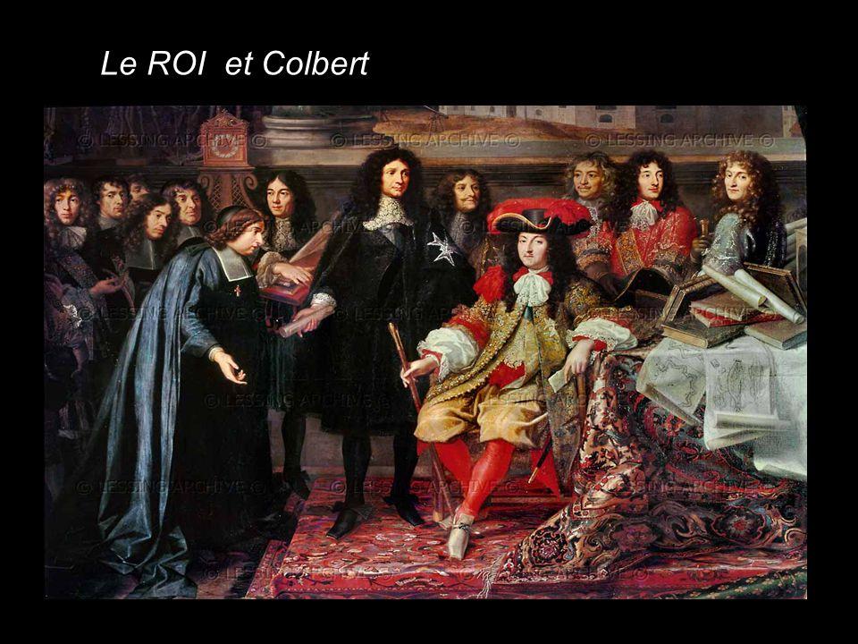 Colbert Mansart Surintendant des finances Architecte de Versailles