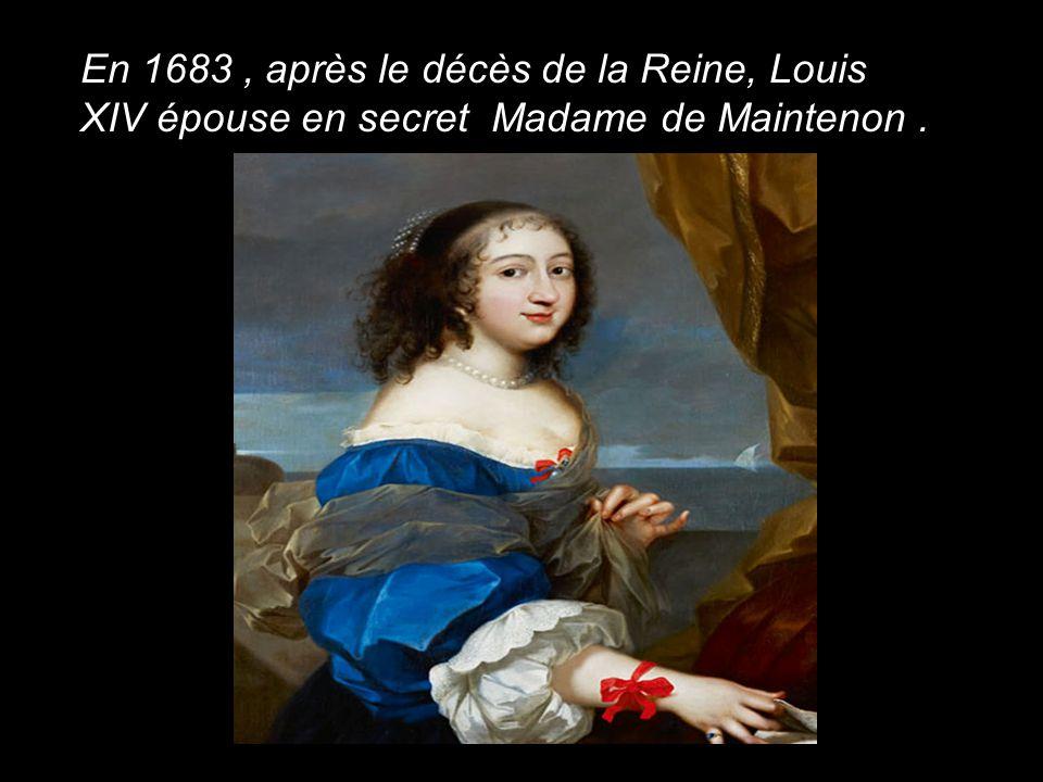 Madame de Montespan ( 1668 ) Les favorites célèbres du Roi