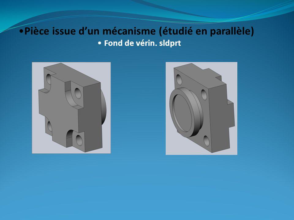 Pièce issue dun mécanisme (étudié en parallèle) Fond de vérin. sldprt