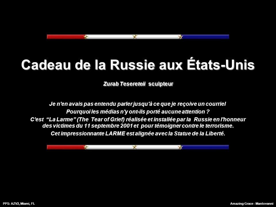 PPS: AZV2, Miami, Fl.Amazing Grace - Mantovanni Cadeau du peuple russe aux États-Unis