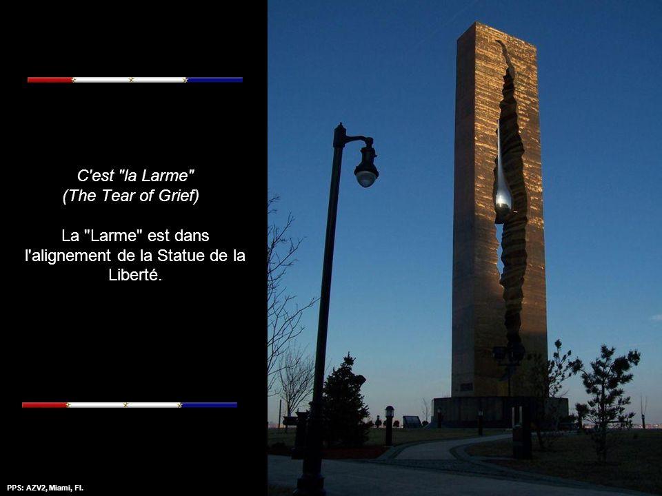 PPS: AZV2, Miami, Fl.Amazing Grace - Mantovanni Ce monument,haut de 33 mètres et pesant 175 tonnes a été transporté en 6 fardeaux depuis la Russie jus