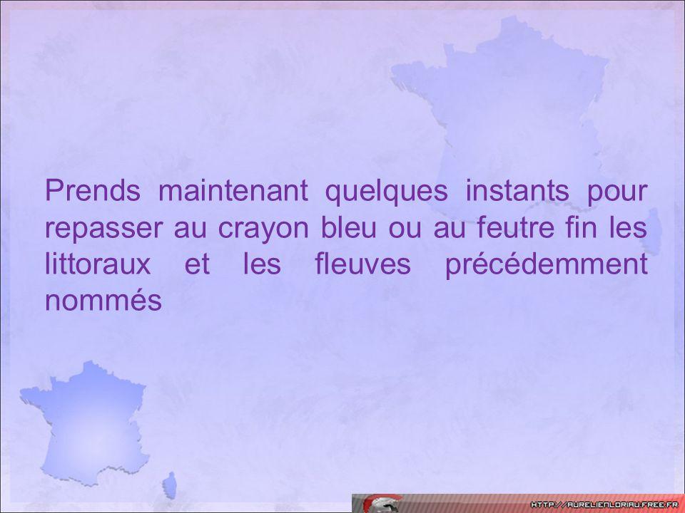 Etape n°2: Reliefs et massifs montagneux 1 2 3 4 5 6 78 Bassin Parisien Bassin Aquitain Alpes Massif central Jura Pyrénées Vosges Massif armoricain