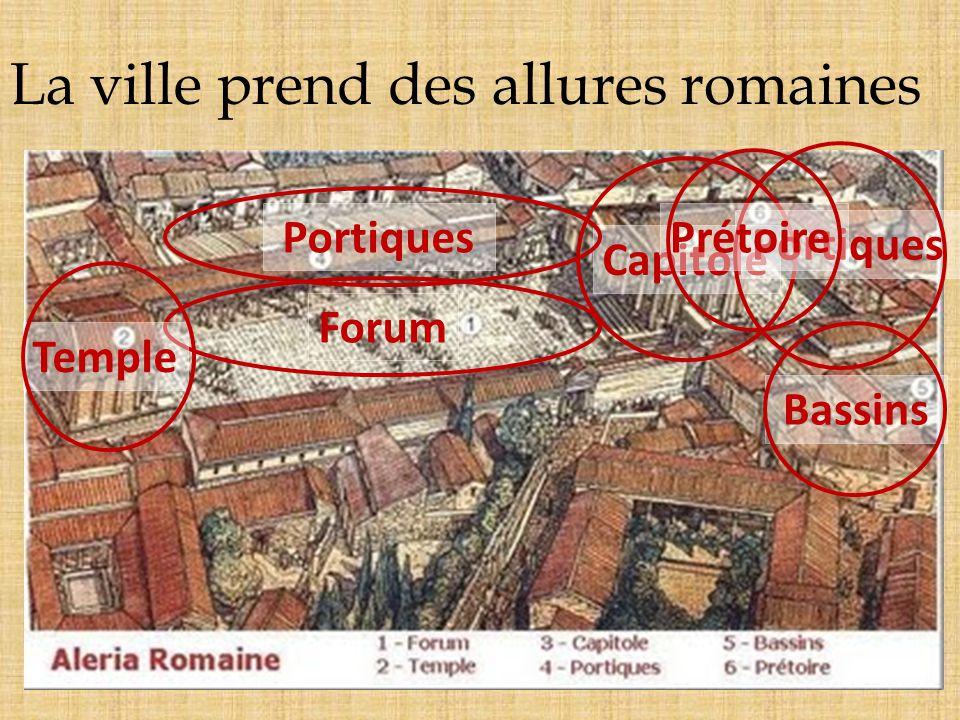 promeut la ville au rang de colonie qui devient la Capitale de la Corse. Aléria Lempereur Auguste
