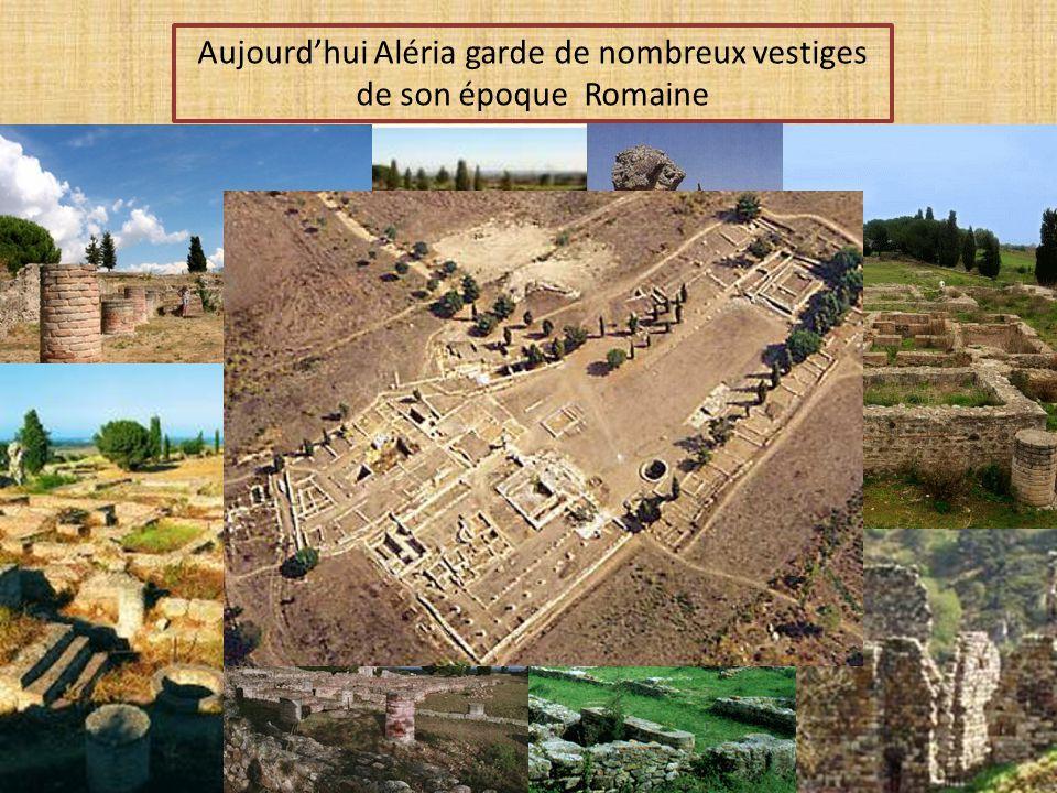 Durant 7 siècles, Aléria va constituer le centre de la forte romanisation de la corse et un grand port dexportation