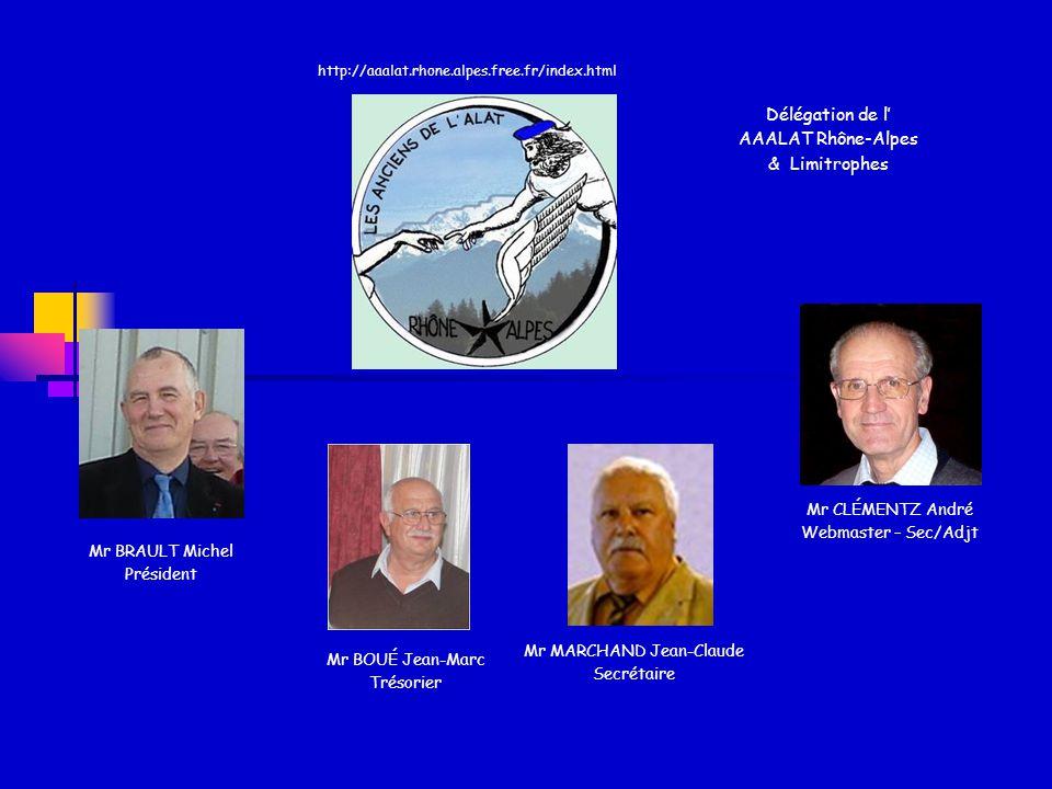 Paris / Ile-de- France Mr POLITIS Gérard Secrétaire Est-Aquitaine Gal LESCASSE Rogers Président OUEST Mr CHEVALIER Jean-Jacques Président EST Mr PHILIPPE Jacques - Vice-Président Mr LE VECHER Michel 1