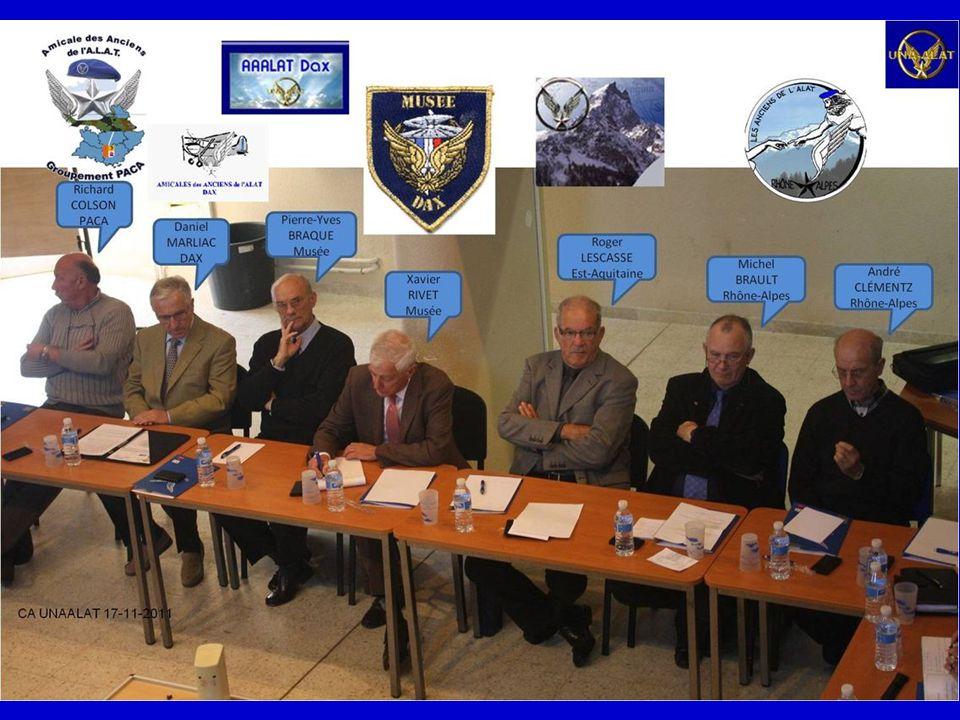 CA de lUNAALAT Base École Général LEJAY le 17 novembre 2011