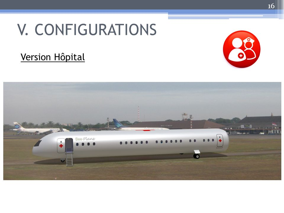 V. CONFIGURATIONS 16 Version Hôpital