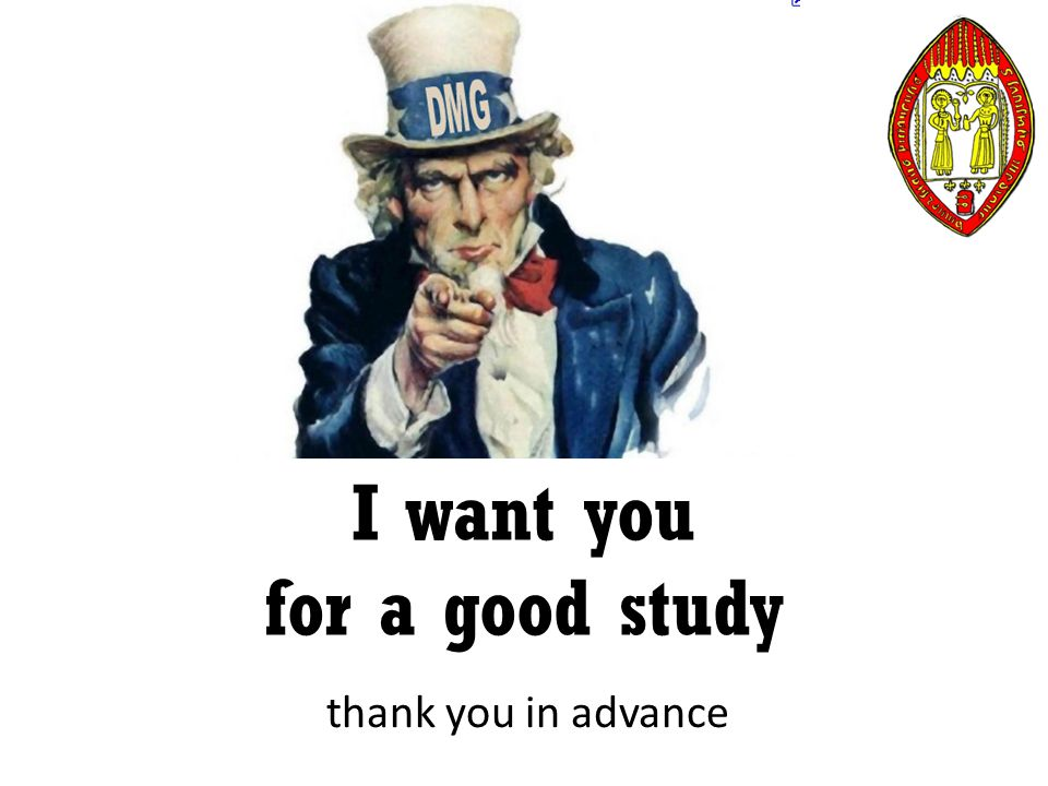 thank you in advance I want you for a good study