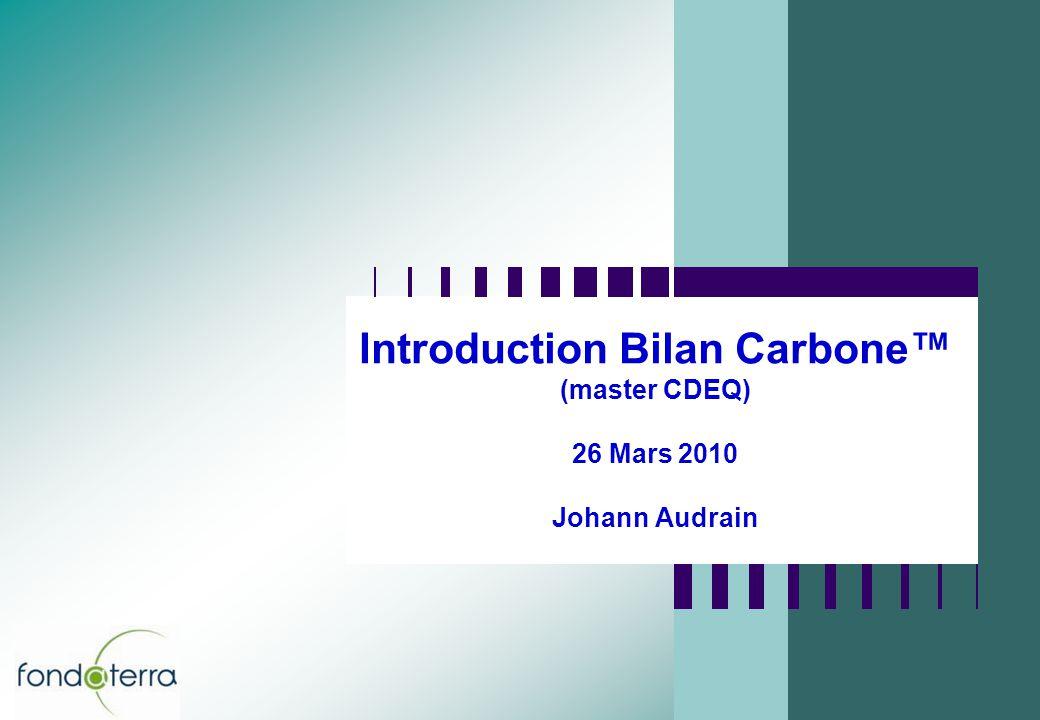 12 LE CHANGEMENT CLIMATIQUE (1/6) Emissions de CO2 provenant de combustibles fossiles (Source : Carbon Dioxide Information Analysis Center)