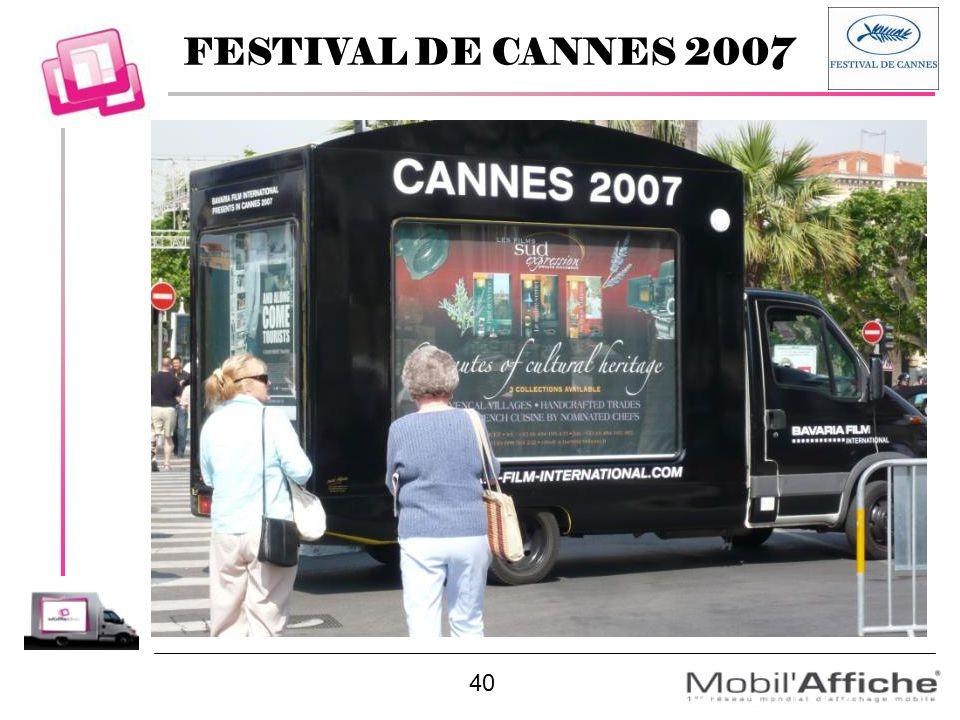 40 FESTIVAL DE CANNES 2007