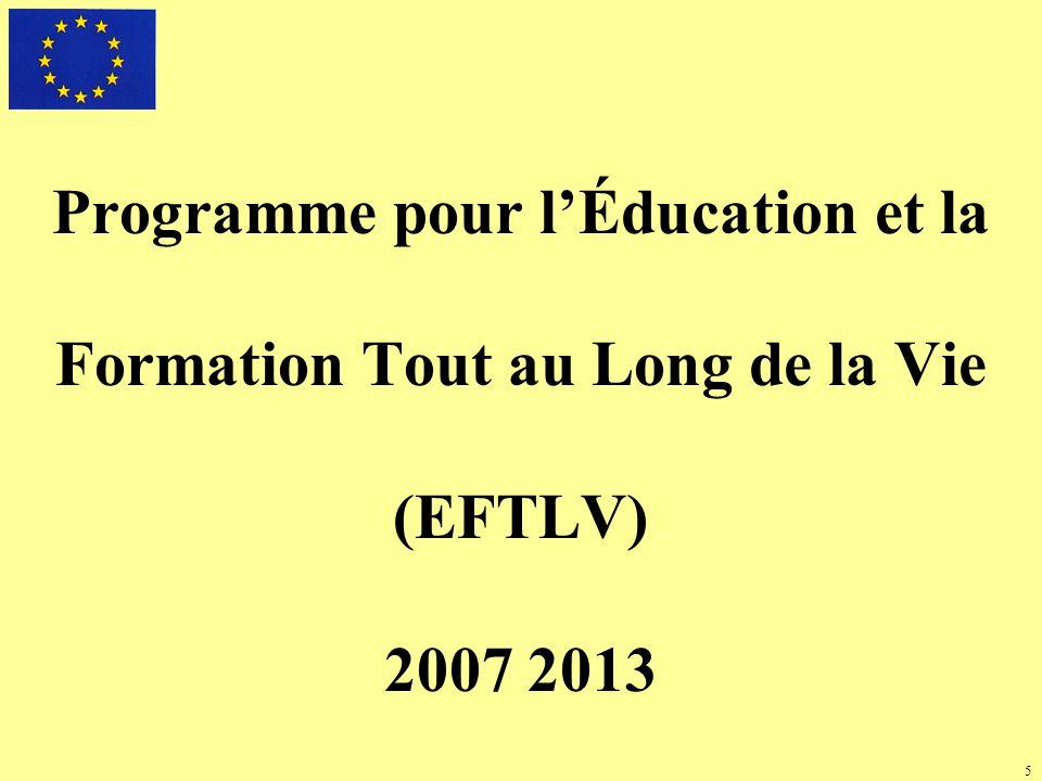 6 Financement du Programme Enveloppe financière 2007 2013 6 970 millions deuros