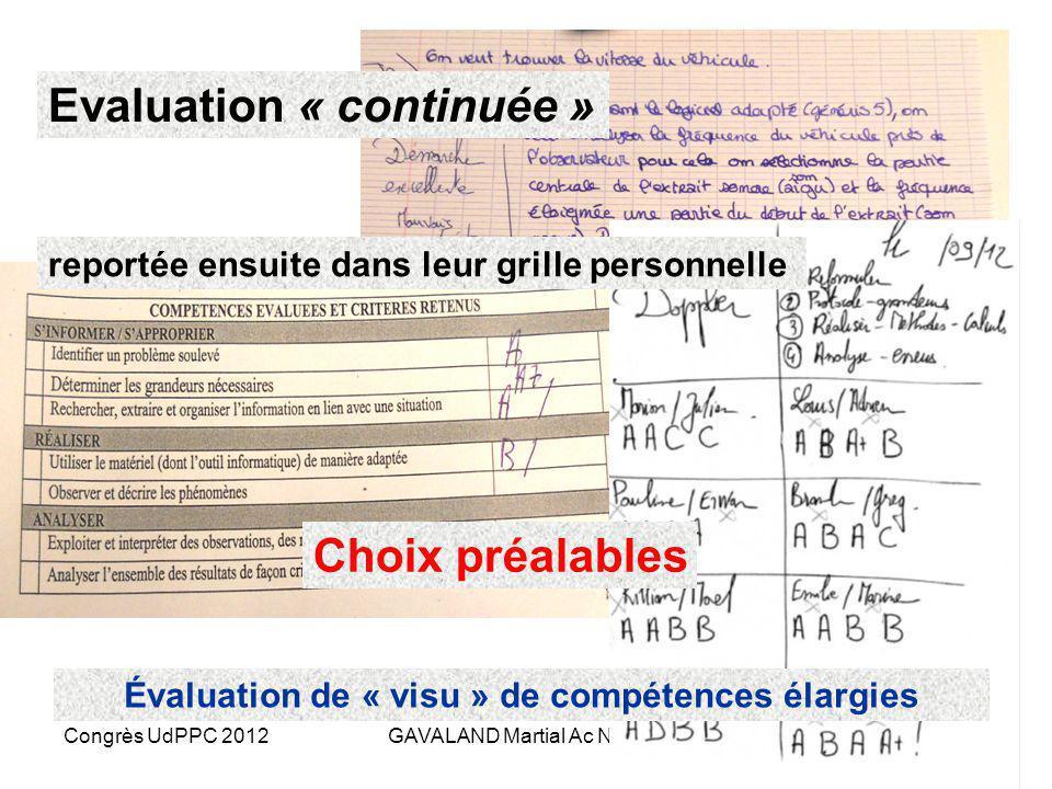 Congrès UdPPC 2012GAVALAND Martial Ac Nantes Phase 4 : lintégration Situation réelle – mobilisation conjointe Situation déclenchante Matthieu et Katel
