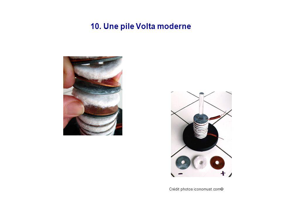 10. Une pile Volta moderne Crédit photos iconomust.com