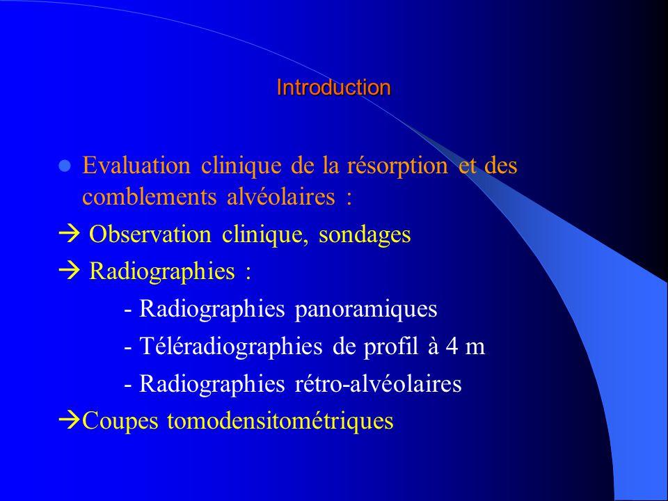Buts Fiabilité du scanner dans lévaluation dun comblement alvéolaire par un substitut osseux injectable Comparaison avec les méthodes habituelles les plus utilisées : – Radiographies rétro-alvéolaires – Micro-radiographies – Histologie classique – MEB