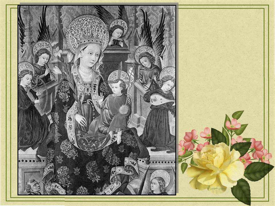 Merci Marie, car tu nous a offert Chaque année, depuis plus de deux millénaires Comme un petit frémissement de paix Afin dembellir notre humanité.
