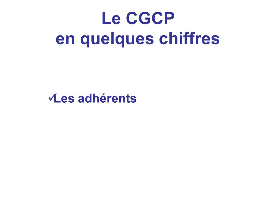 Actions prioritaires 2008 / 2009