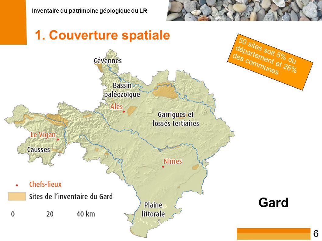 Inventaire du patrimoine géologique du LR 7 1.