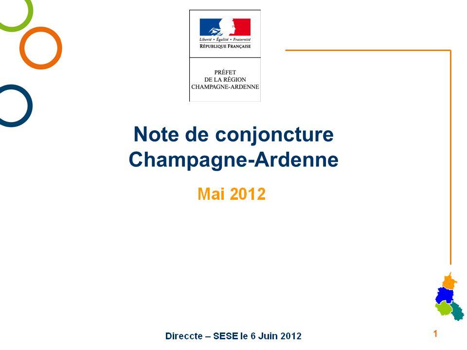 Note de conjoncture Champagne-Ardenne 1