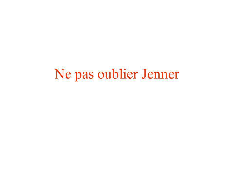 Ne pas oublier Jenner