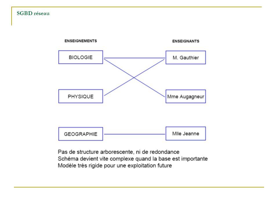 Le passage du Modèle Conceptuel de Données à la géodatabase Le rôle du Modèle Conceptuel de Données (MCD) est essentiel dans la procédure de construction et dexploitation de la géodatabase ArcGIS-ArcINFO.