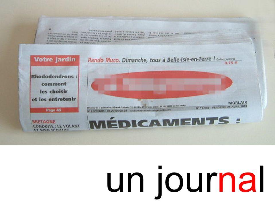 na journal un journal