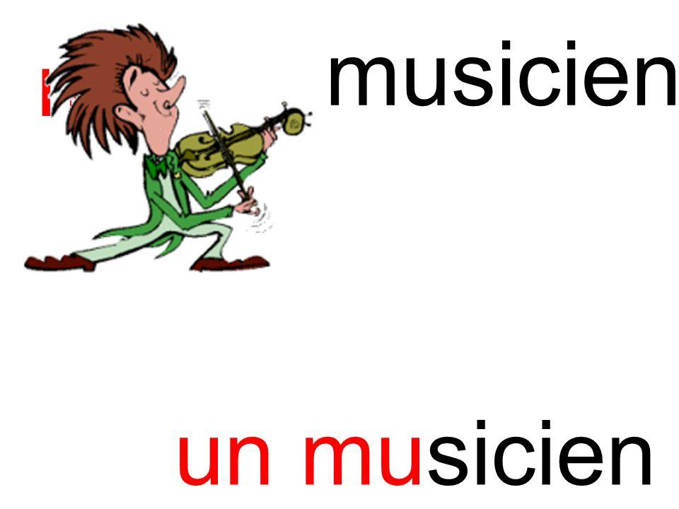 mu musicien un musicien