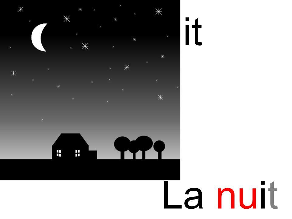 nu nuit La nuit