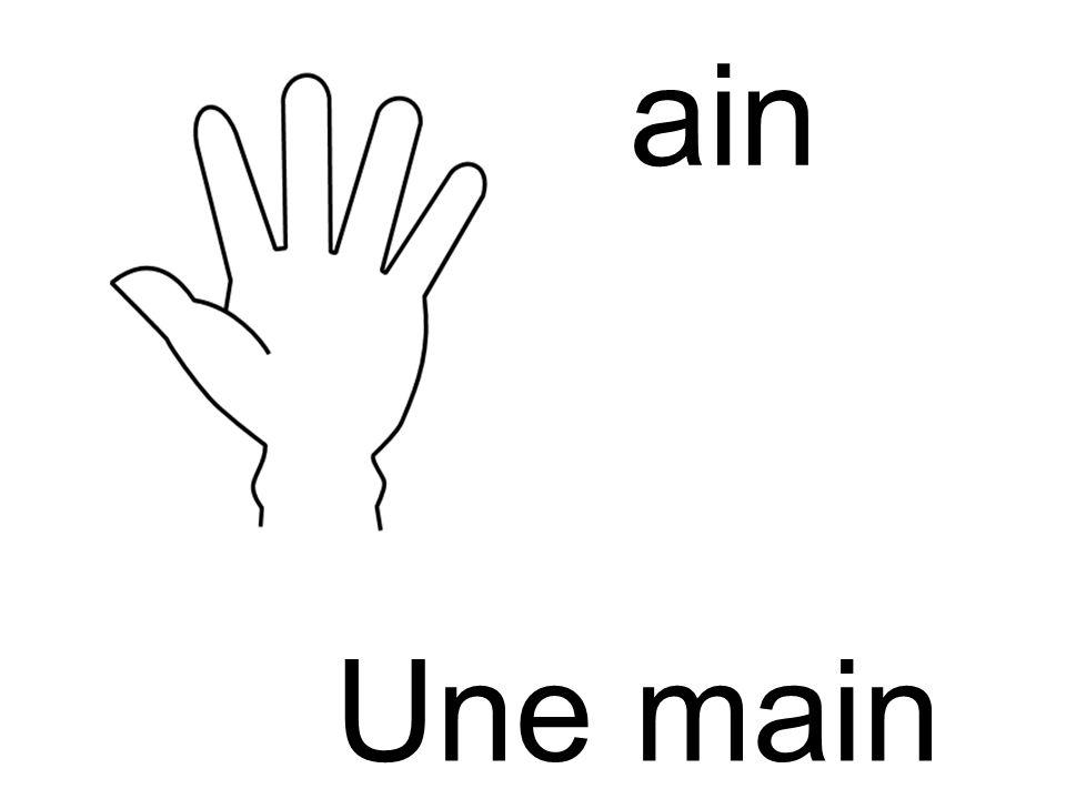 main Une main