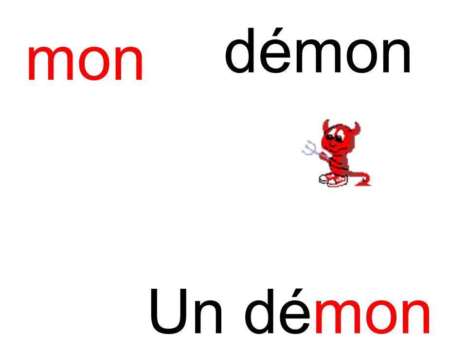 mon démon Un démon