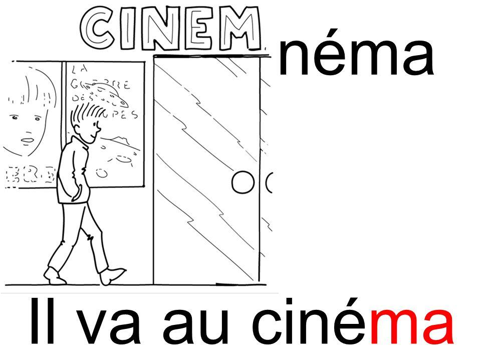 ma cinéma Il va au cinéma