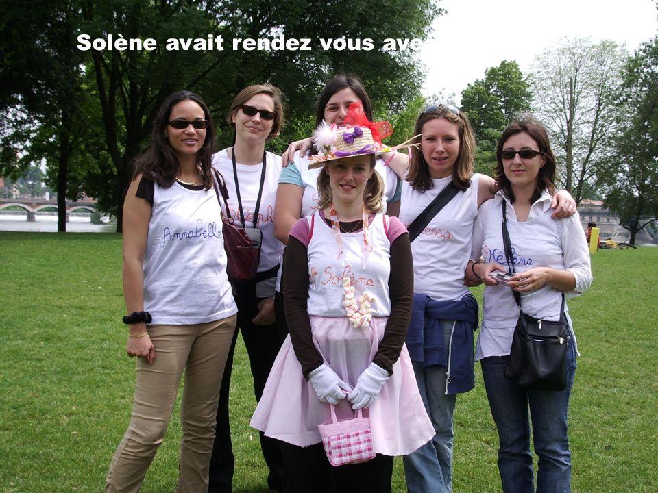 Solène avait rendez vous avec ses Filles