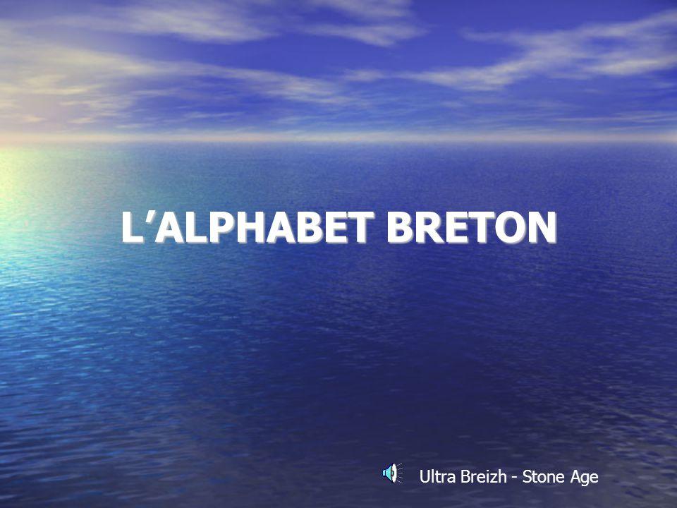LALPHABET BRETON Ultra Breizh - Stone Age