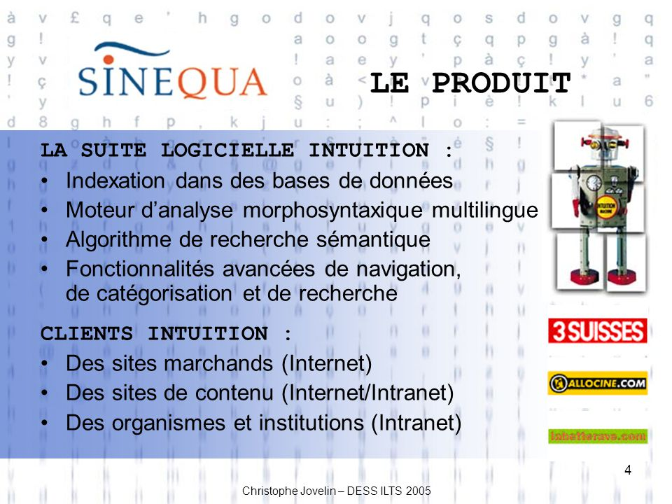 5 MES PRINCIPALES TÂCHES Traduction vers langlais de : Documentation technique ex.