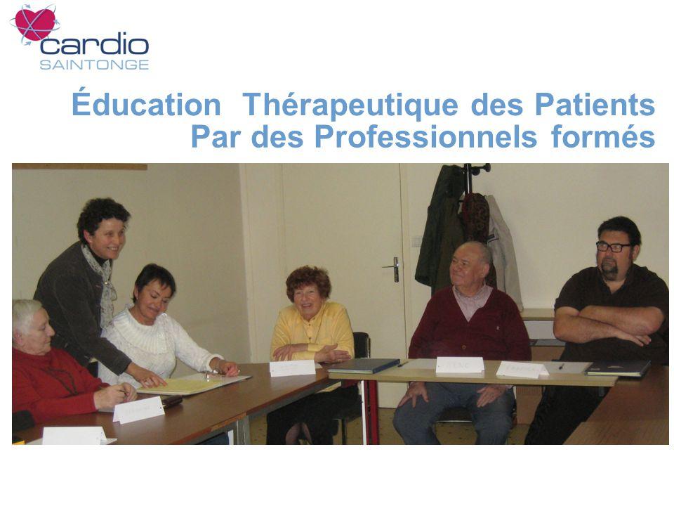 Éducation Thérapeutique des Patients Par des Professionnels formés