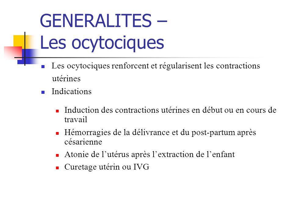 Les ocytociques - Spécialités Méthylergométrine METHERGIN ® IM, cp, sol.