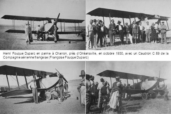 1933 – Devant le Potez 43 F-AMLC, Rouch et les moniteurs André Heinzelmann et Jean-Marie Ruamps (Claude Montalant)