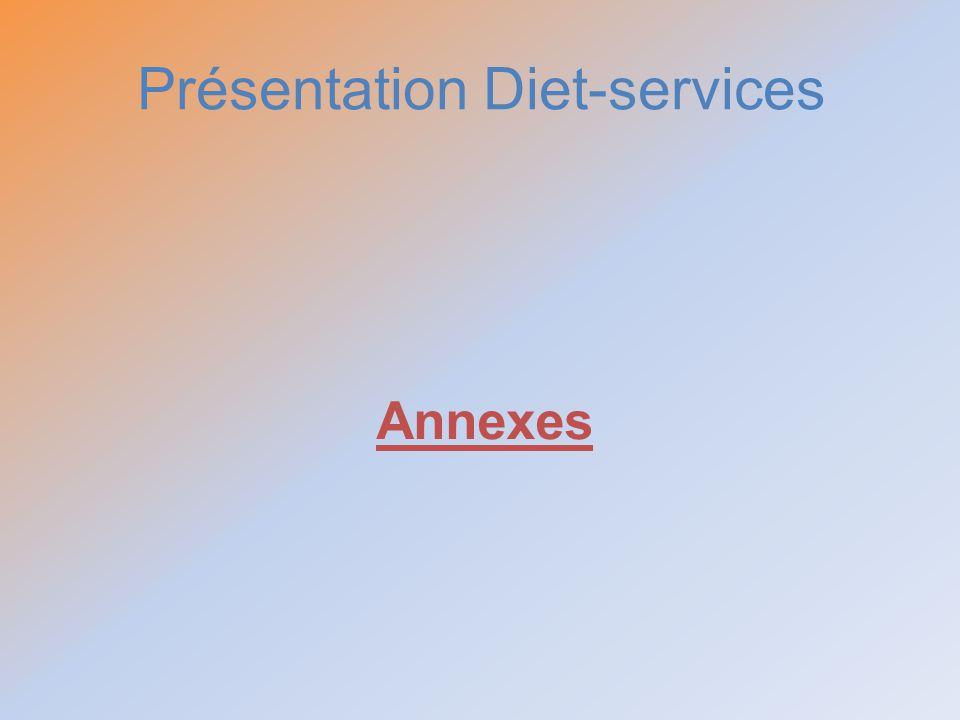 Présentation Diet-services Annexes