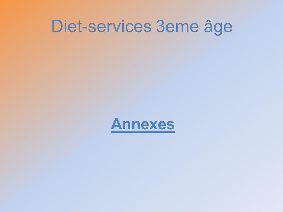 Diet-services 3eme âge Annexes