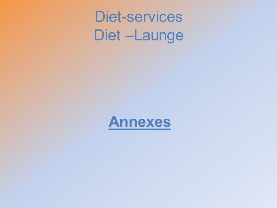 Diet-services Diet –Launge Annexes