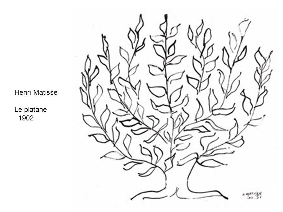 Henri Matisse Le platane 1902