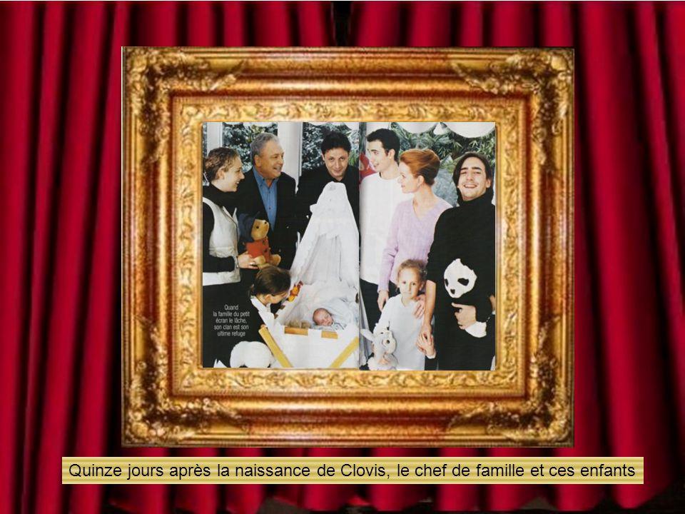 En 1992 il épouse Céline, entouré de ces six enfants
