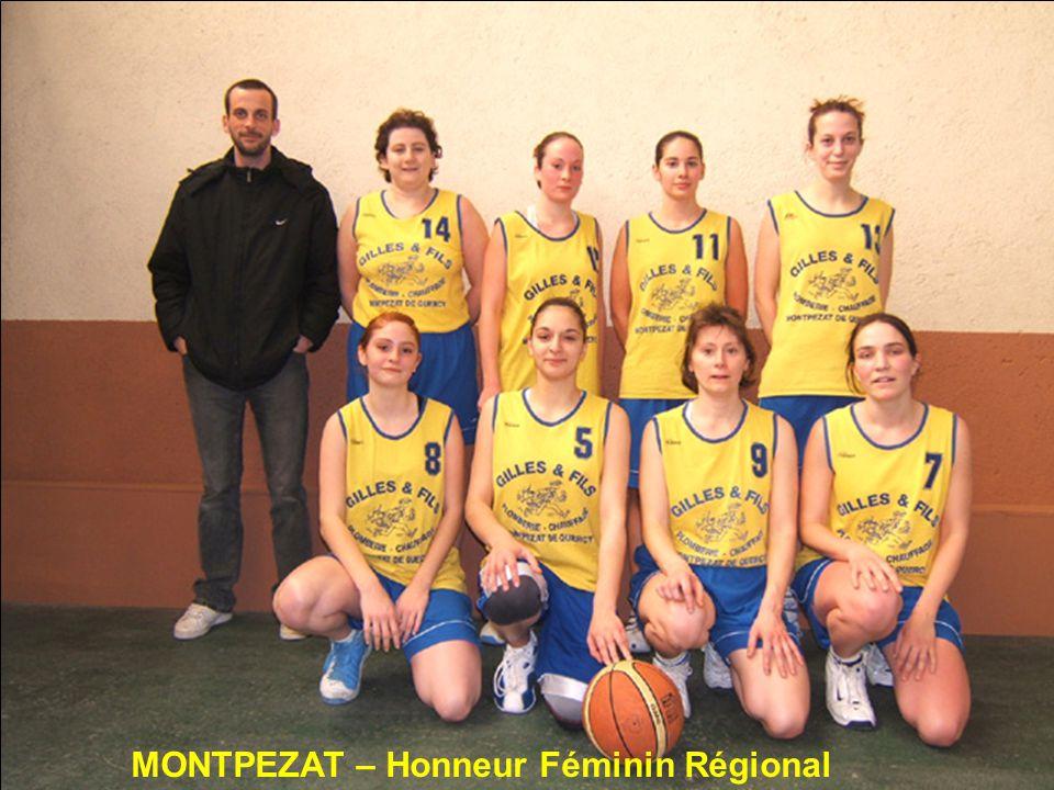 MONTPEZAT – Honneur Féminin Régional