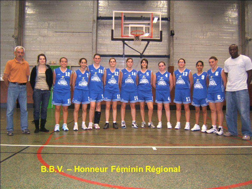 B.B.V. – Honneur Féminin Régional