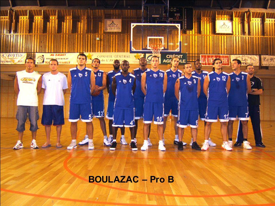 BOULAZAC – Pro B