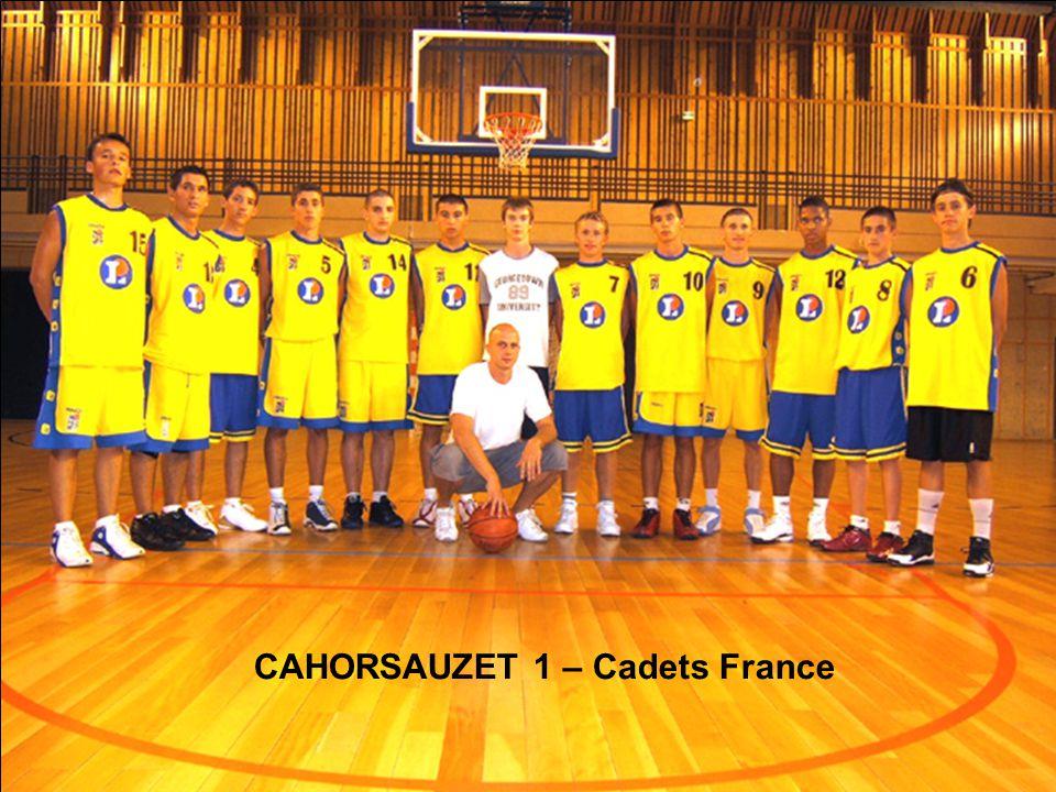 CAHORSAUZET 1 – Cadets France