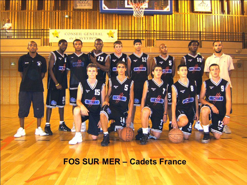 FOS SUR MER – Cadets France