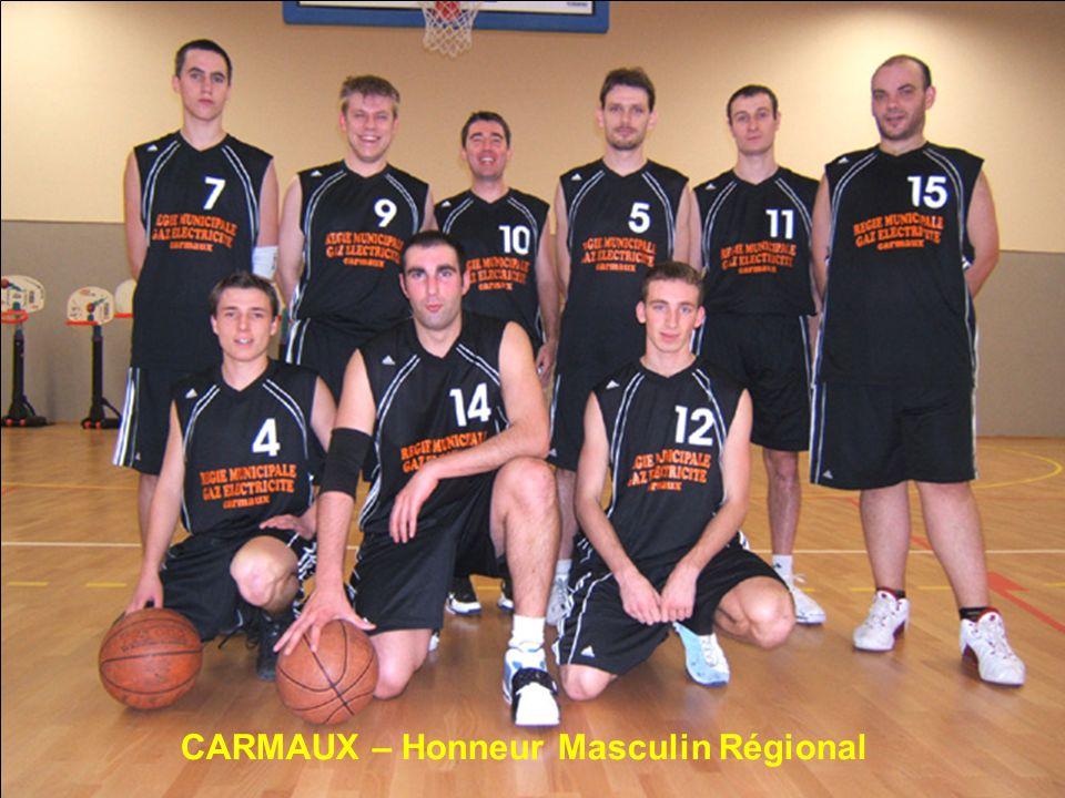 CARMAUX – Honneur Masculin Régional